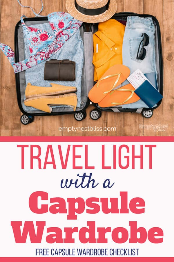 Travel capsule wardrobes help you travel light and look stylish!