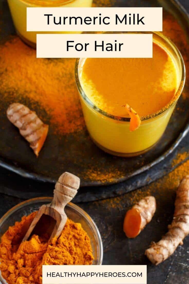 golden milk for hair benefits
