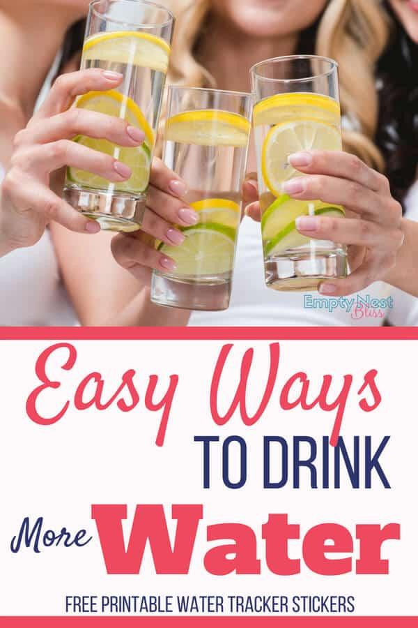 What's the best way to drink water? Great tips to get that water in!